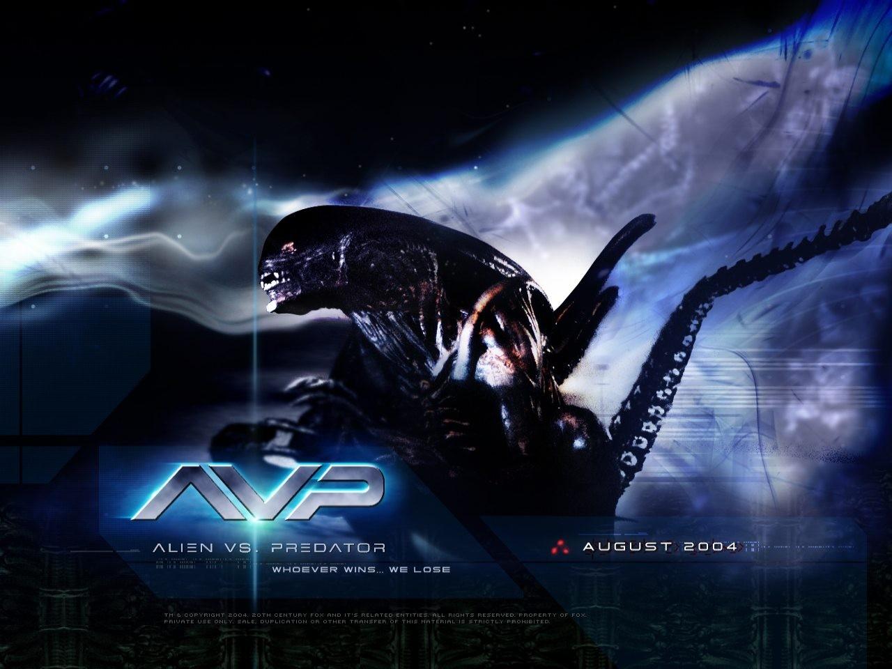 Un wallpaper del film Alien Vs. Predator
