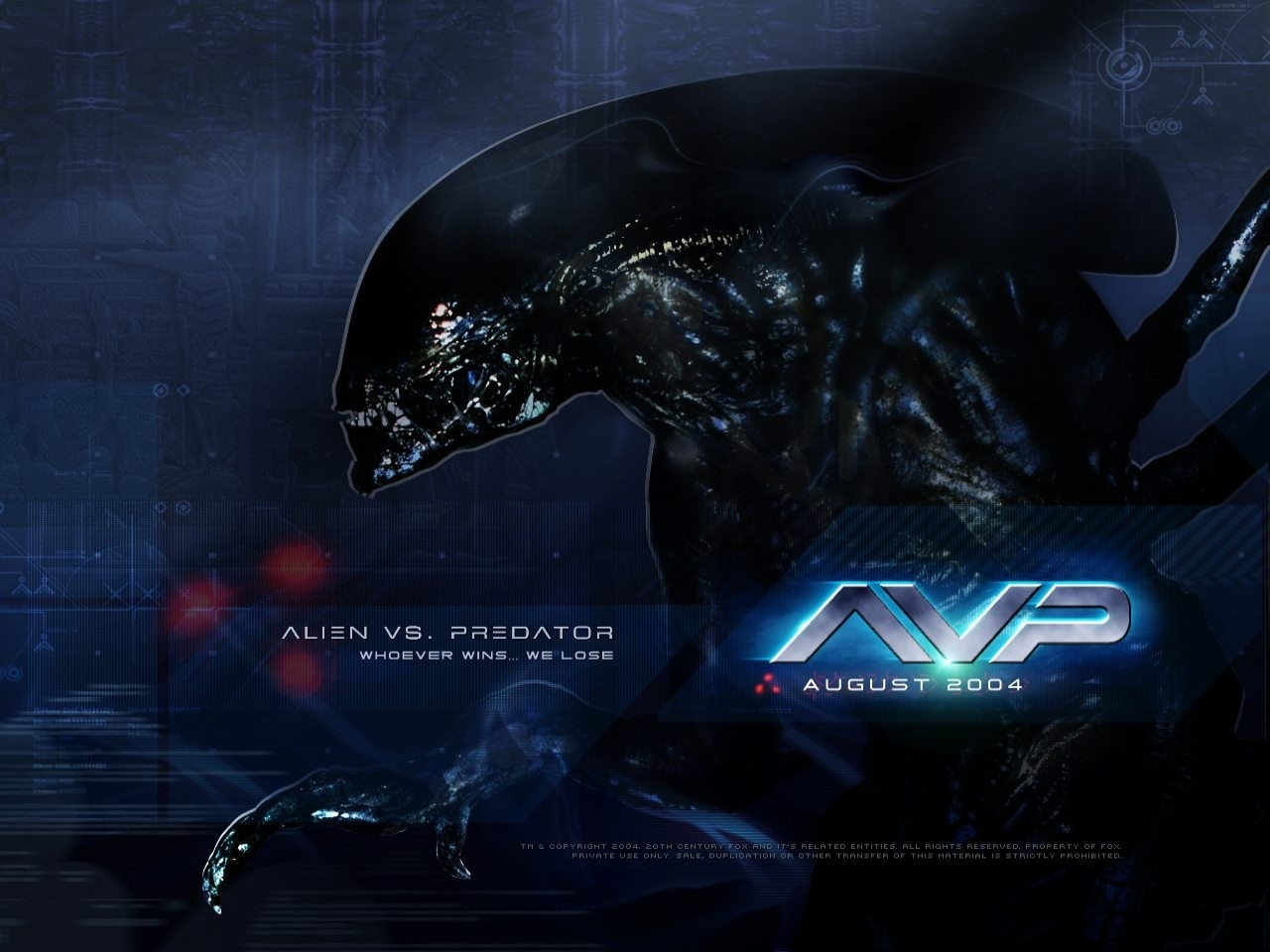 Wallpaper del film Alien Vs. Predator