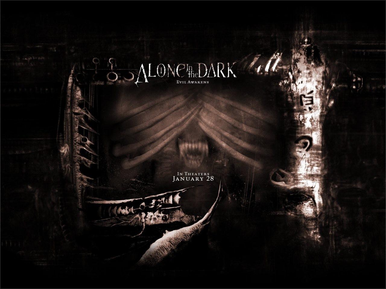 Wallpaper del film Alone in the Dark
