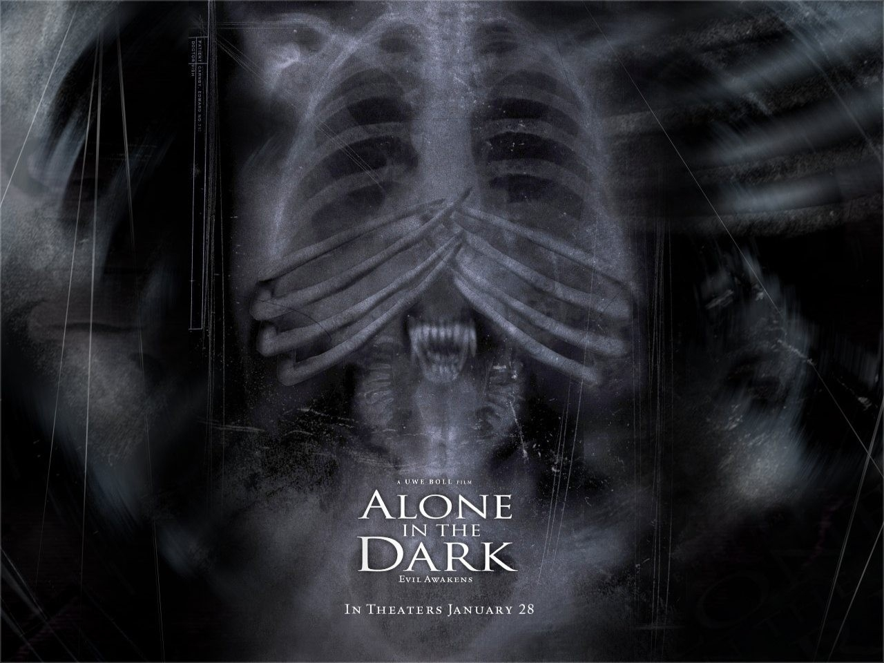 Wallpaper dell'horror Alone in the Dark
