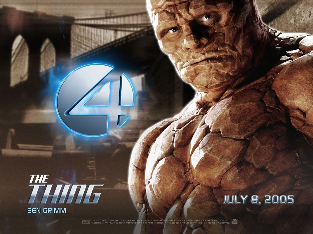 Wallpaper del film I fantastici quattro