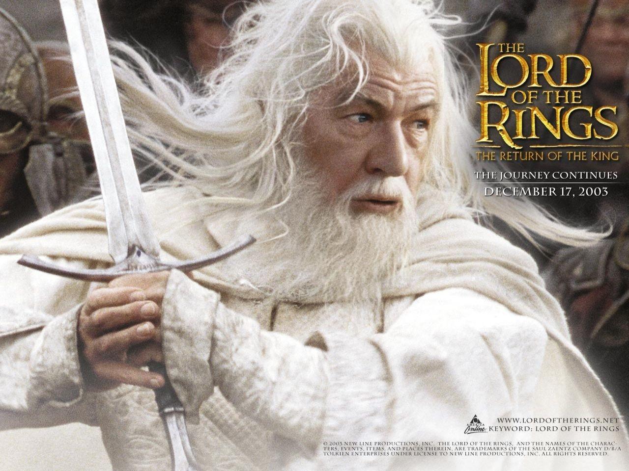 Wallpaper del film Il signore degli anelli - Il ritorno del re di Peter Jackson