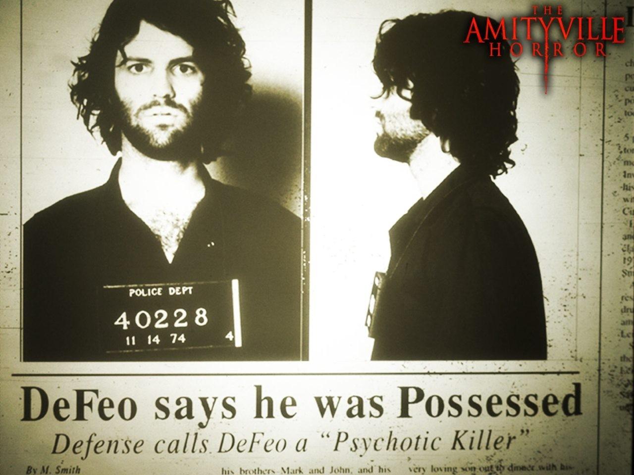 Wallpaper del film Amityville Horror, del 2005
