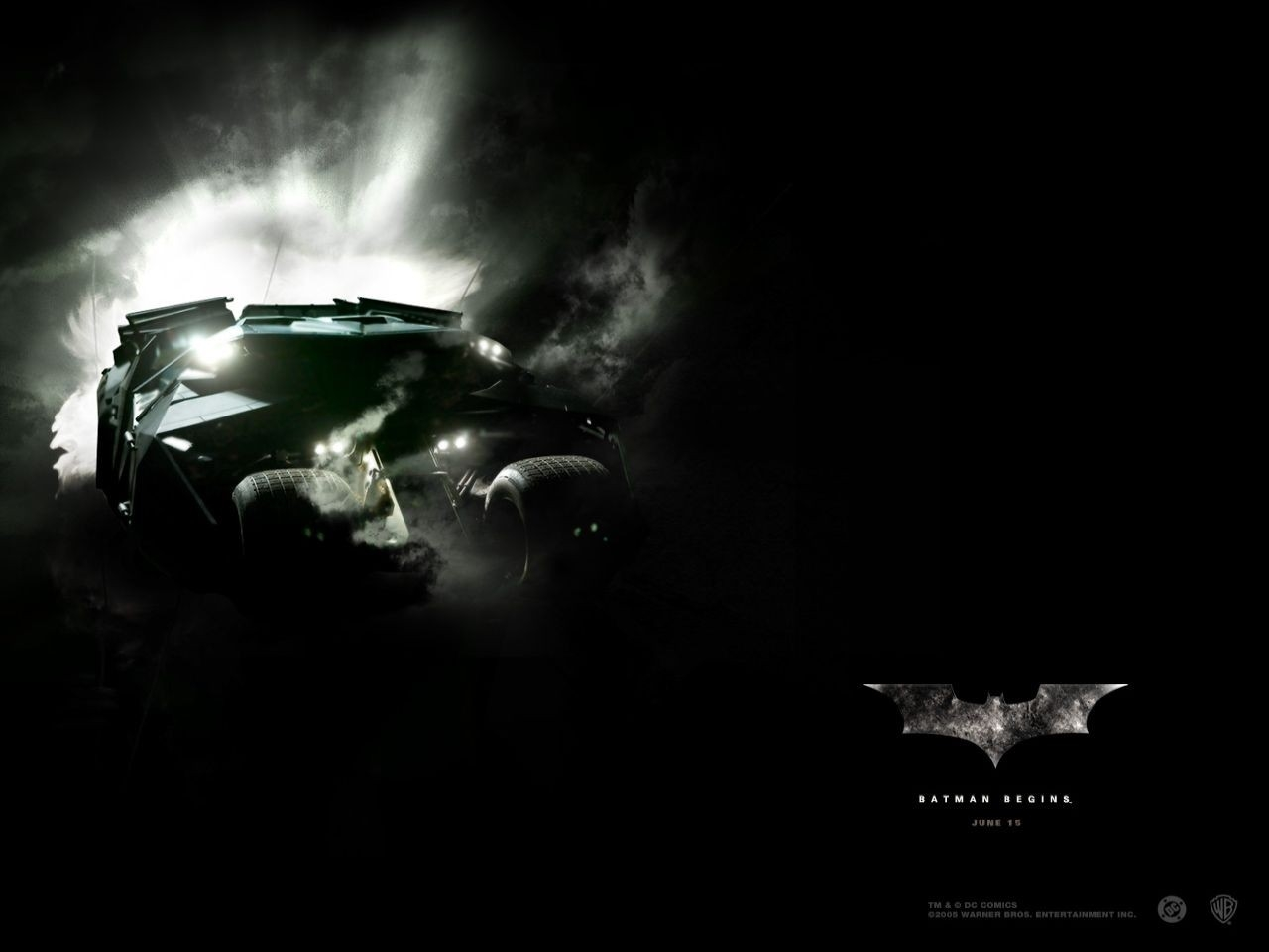Wallpaper del film Batman Begins