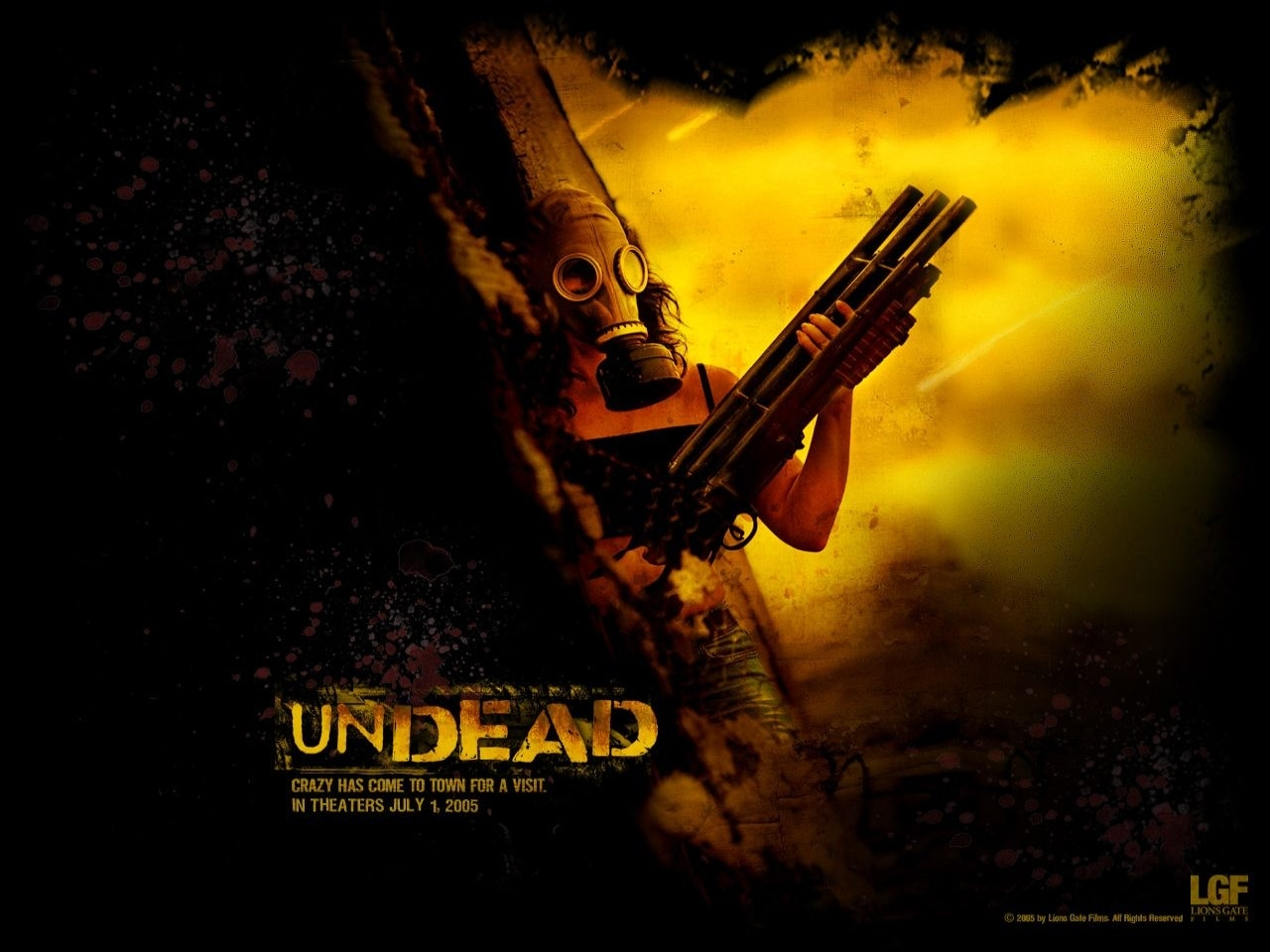 Wallpaper del film Undead