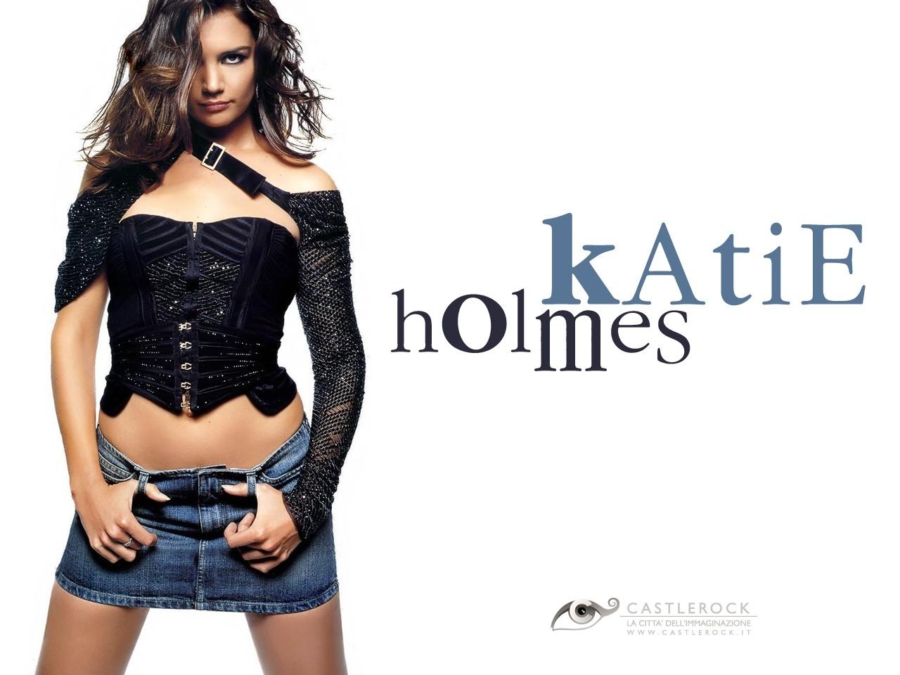 Wallpaper di Katie Holmes in jeans