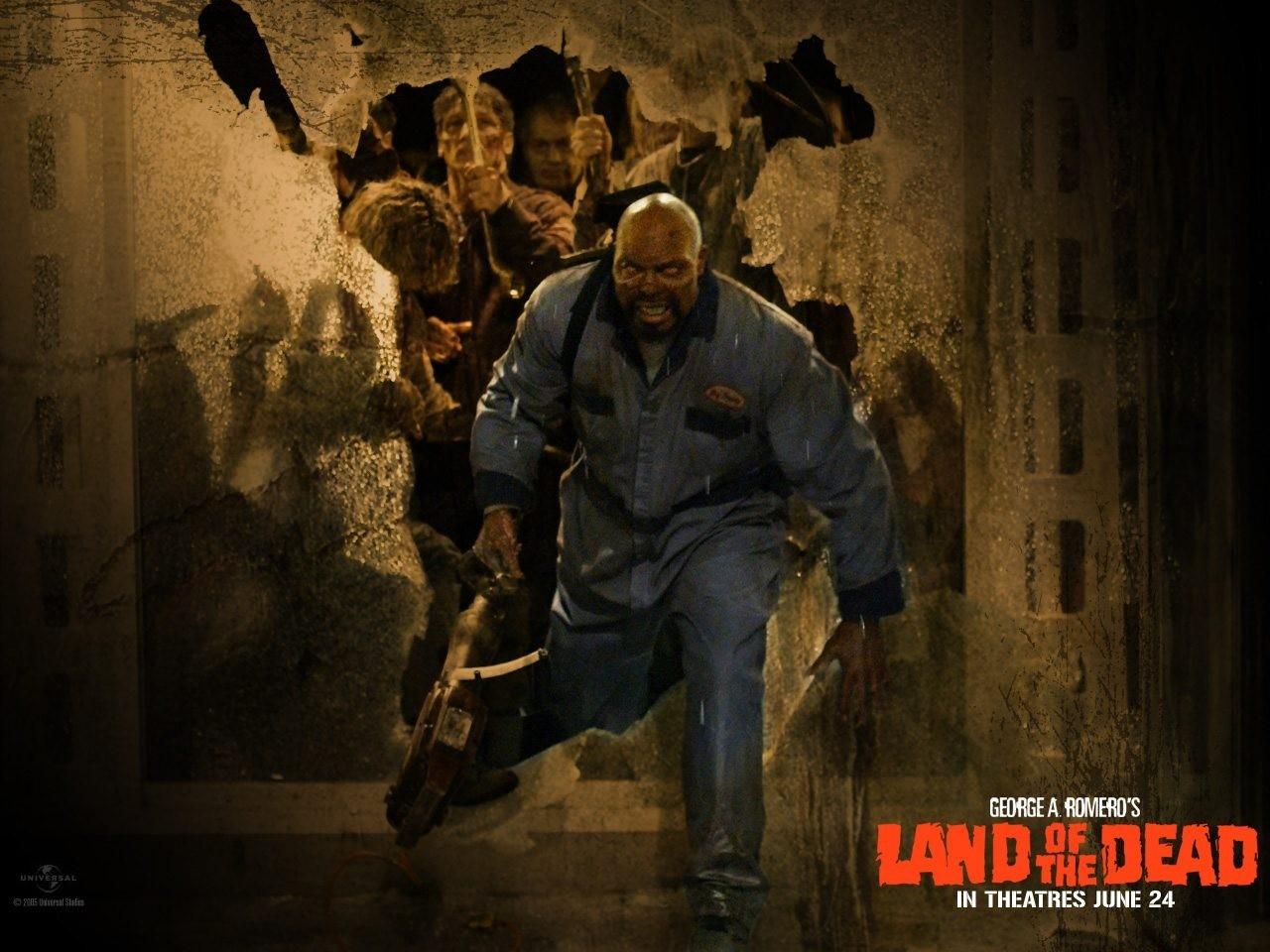 Wallpaper del film La terra dei morti viventi di George A. Romero