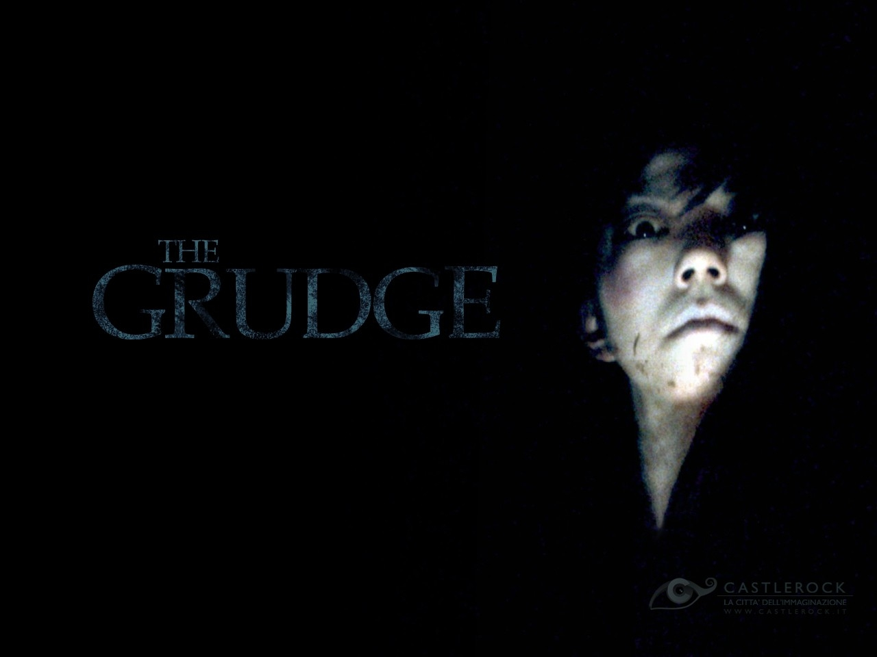 Wallpaper inquietante del film The Grudge