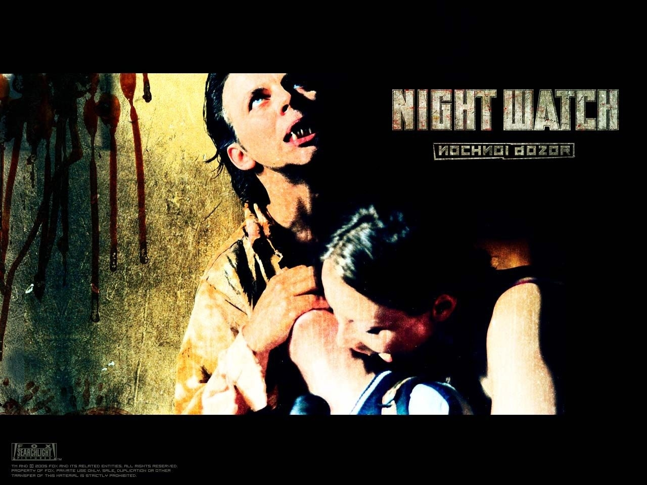Wallpaper con uno dei vampiri del film I guardiani della notte