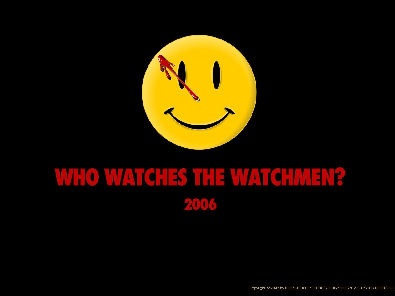 Un wallpaper di Watchmen
