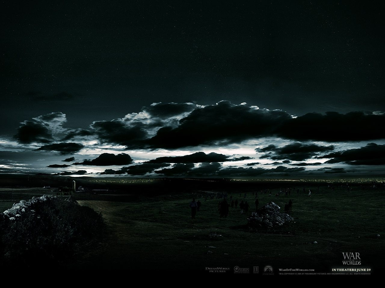 Wallpaper del film La guerra dei mondi