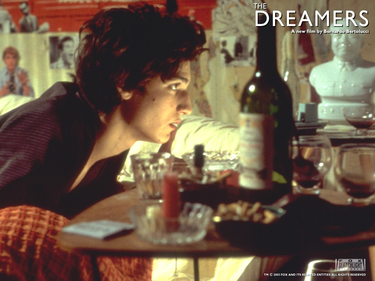 Wallpaper del film The dreamers - I sognatori con Louis Garrel