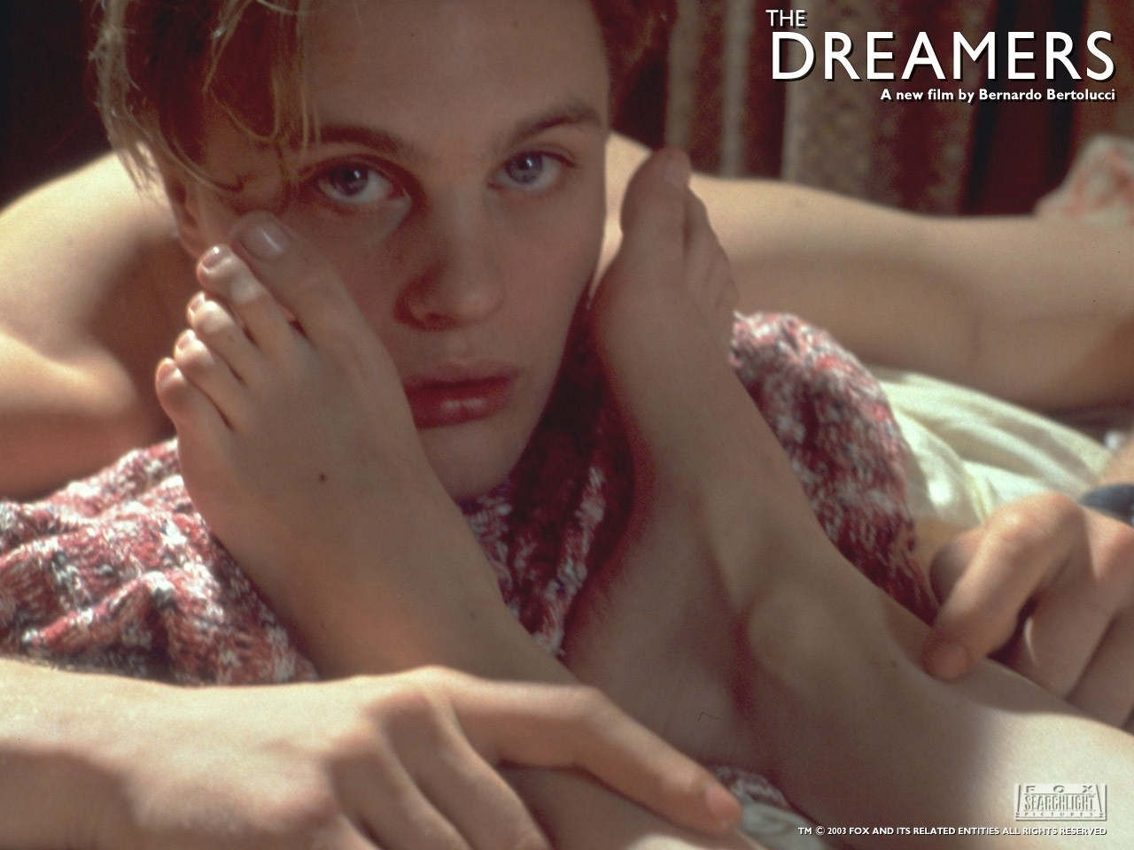 Wallpaper 'fetish' per il film The dreamers - I sognatori