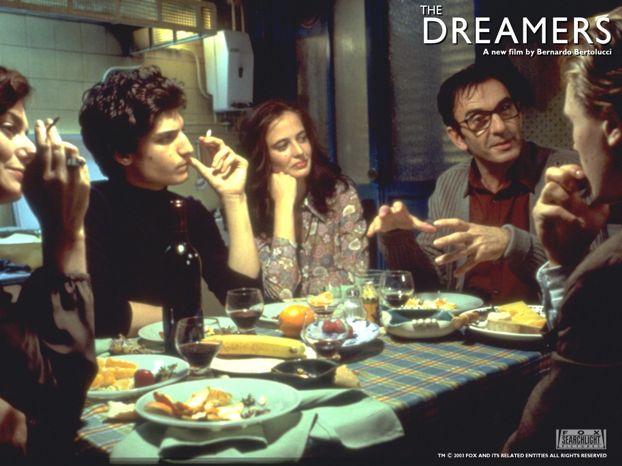 Wallpaper del film The dreamers - I sognatori
