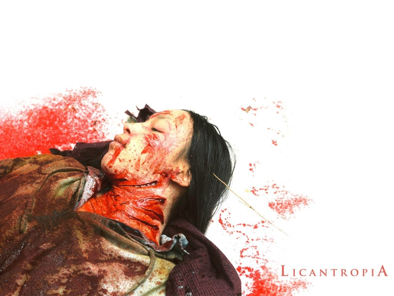 Wallpaper del film Licantropia