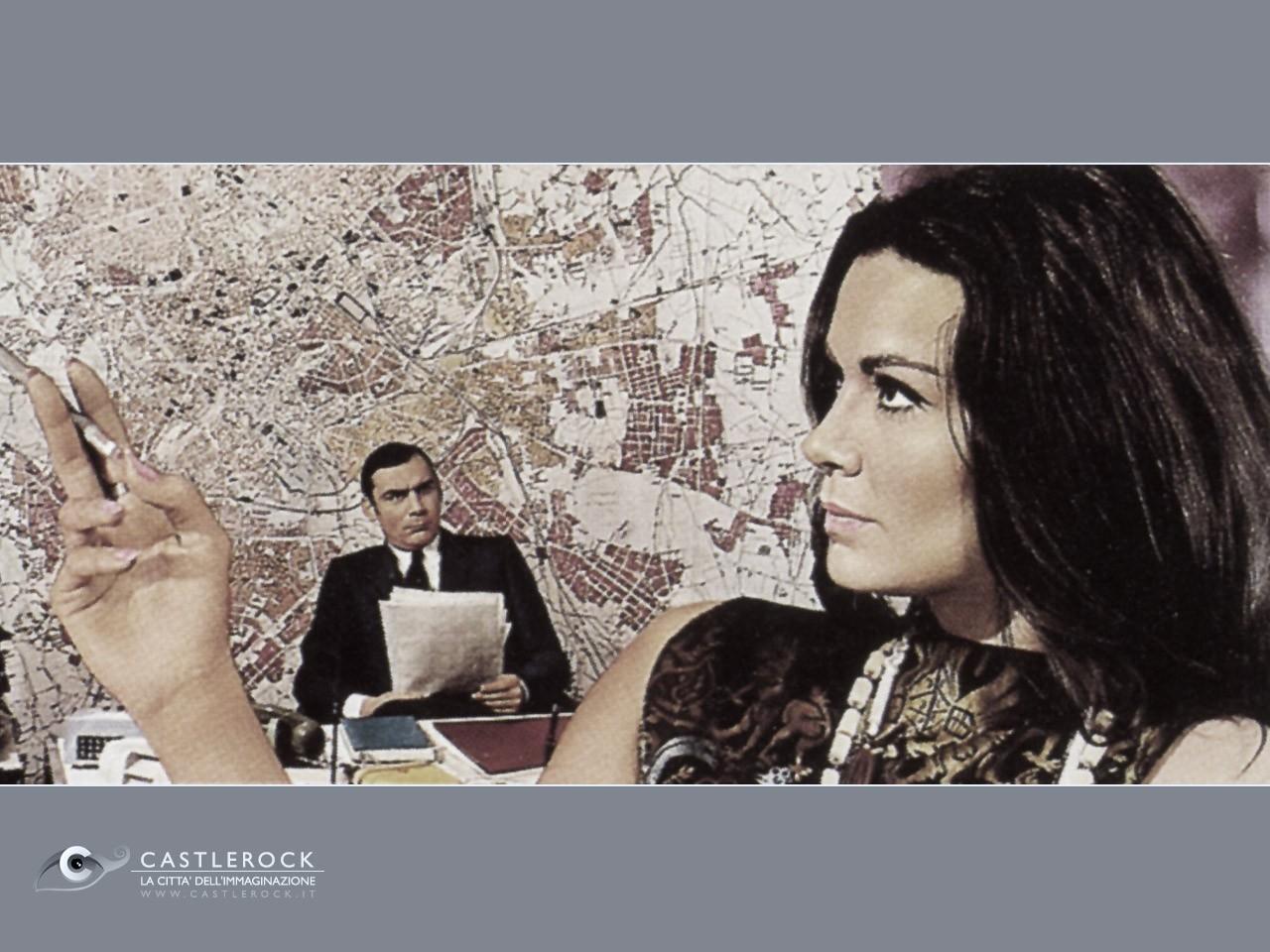 Wallpaper del film Indagine su un cittadino al di sopra di ogni sospetto