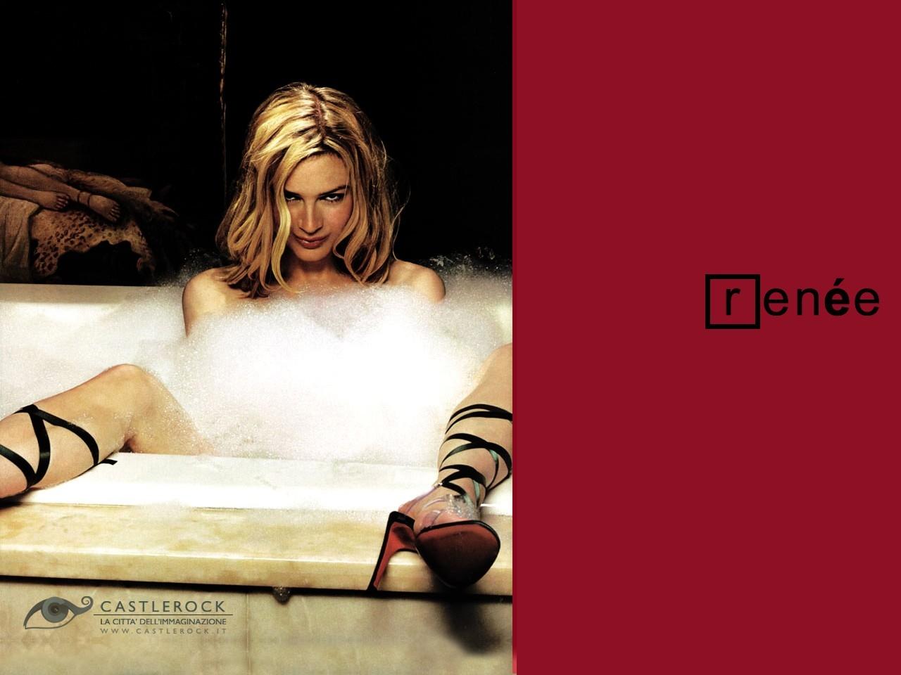 Wallpaper di una sensuale Renée Zellweger