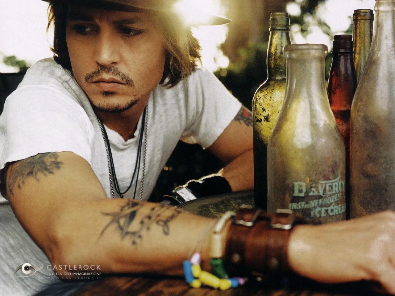 Destop Wallpaper di Johnny Depp