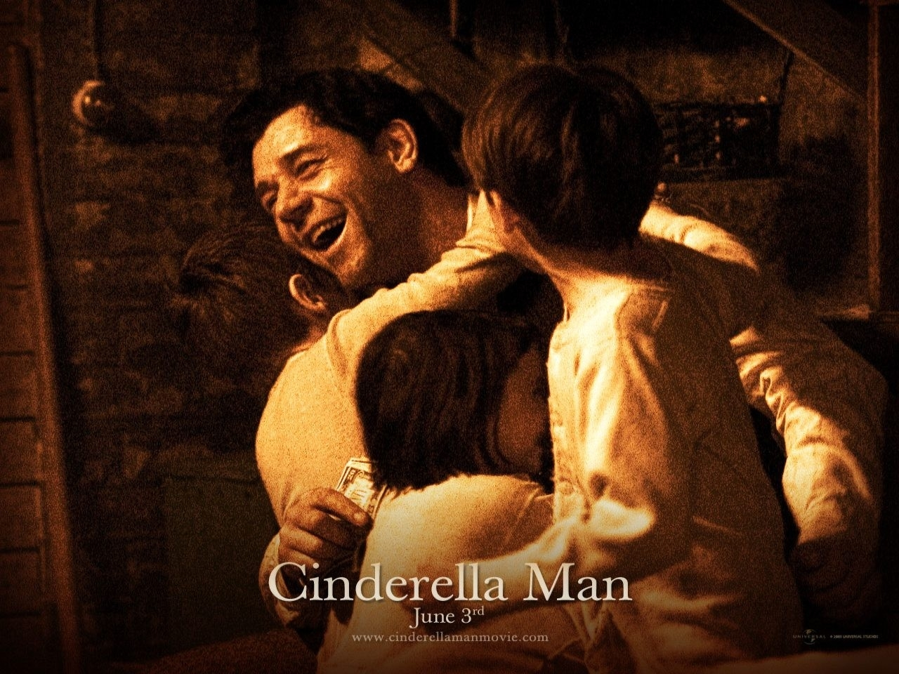 Wallpaper del film Cinderella man - Una ragione per lottare con Russell Crowe