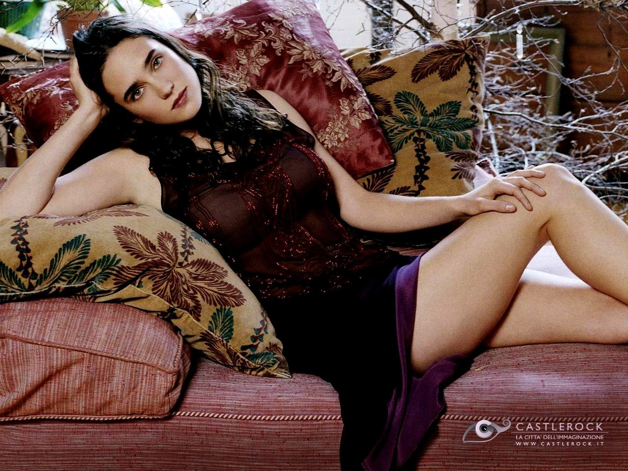 Wallpaper dell'attrice Jennifer Connelly