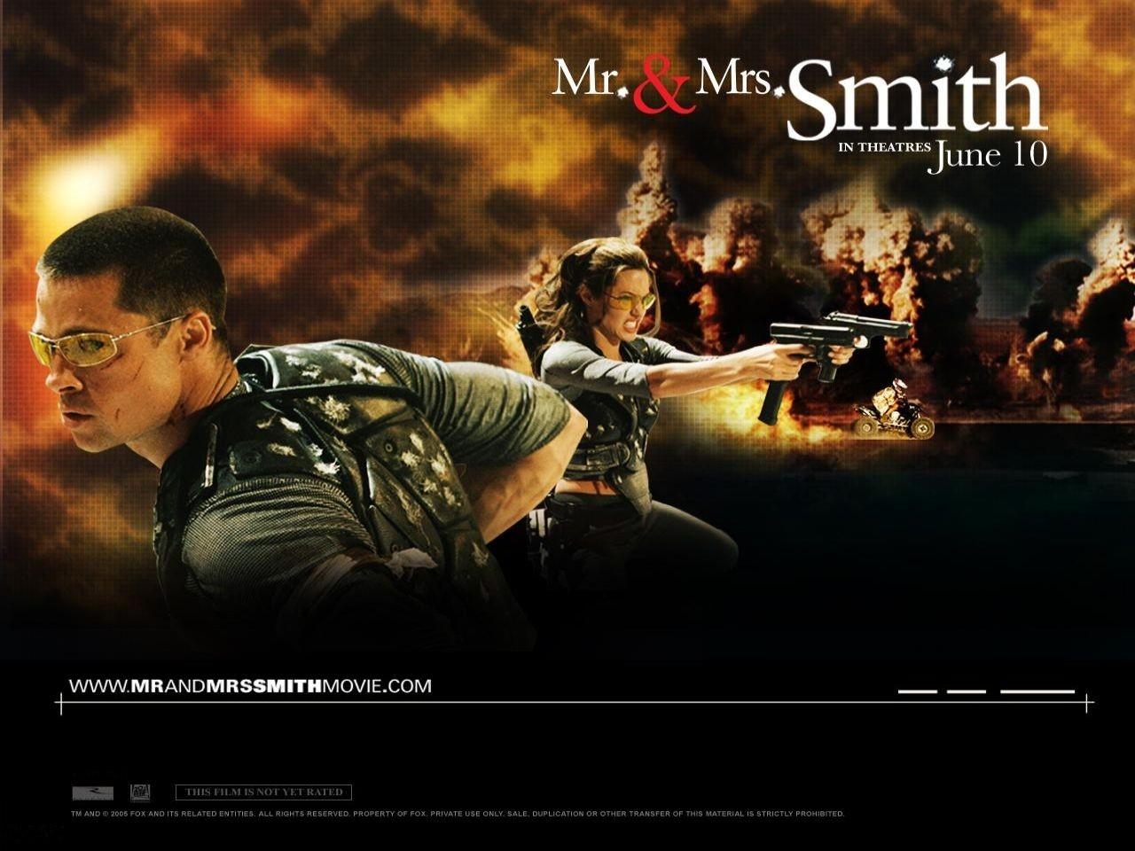 Wallpaper del film Mr. and Mrs. Smith