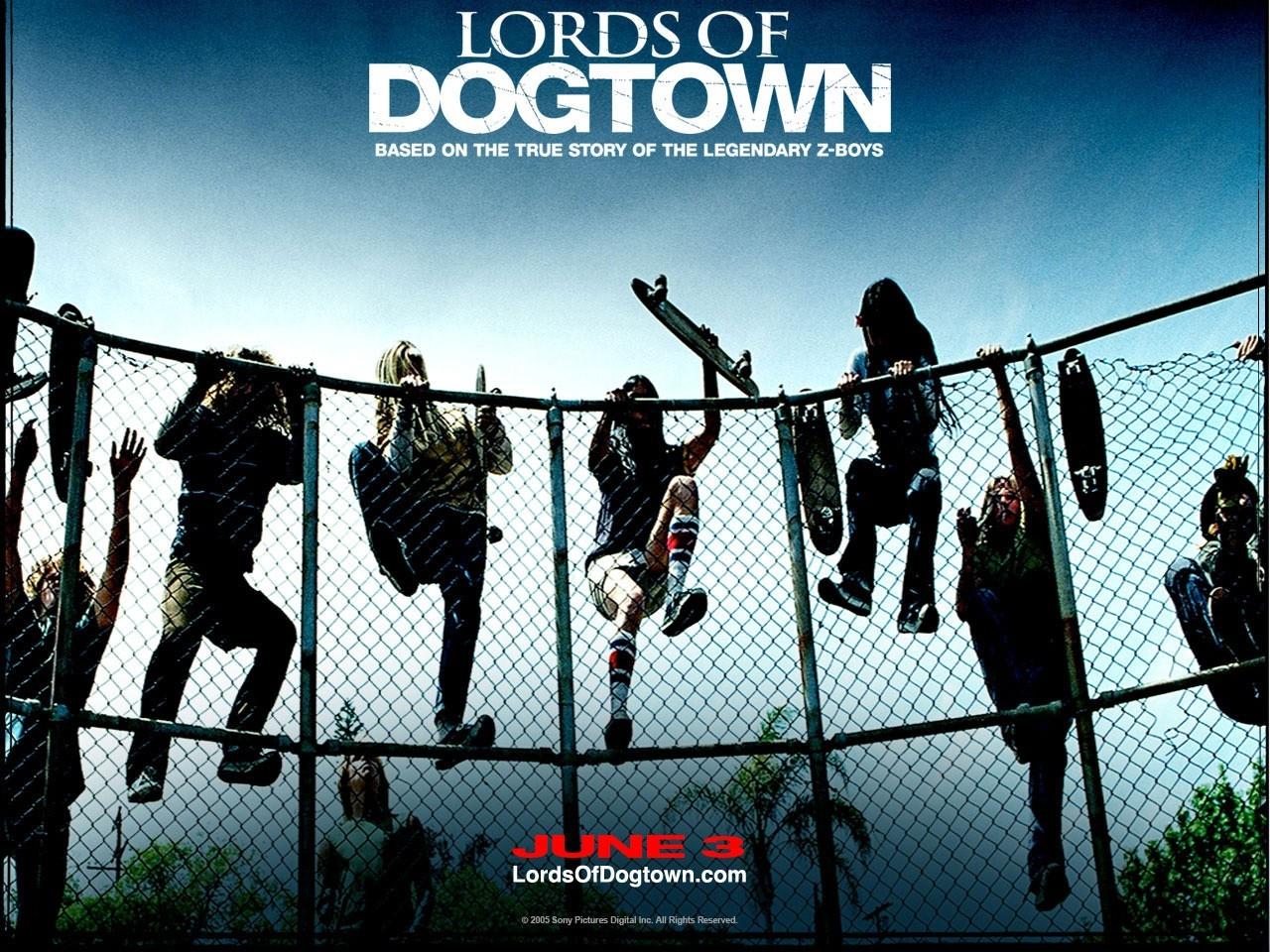 Un suggestivo wallpaper del film Lords of Dogtown