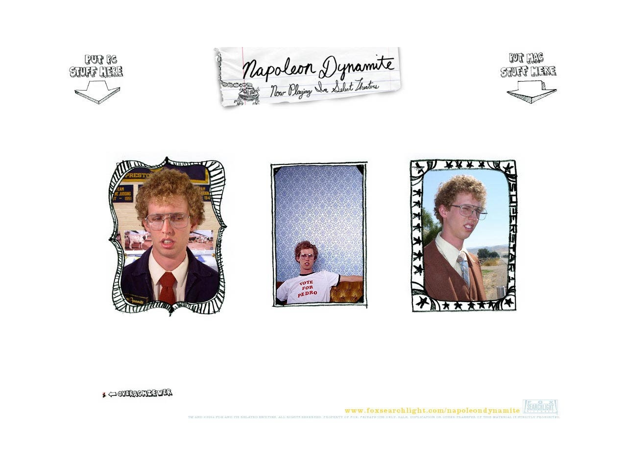 Wallpaper del film Napoleon Dynamite