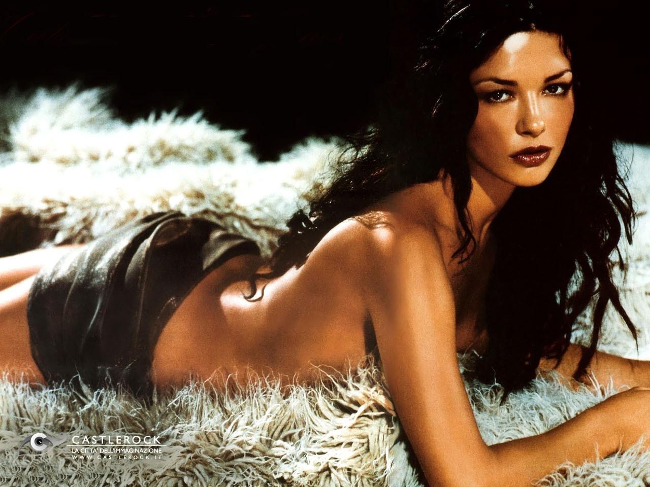 Wallpaper sexy di Catherine Zeta-Jones