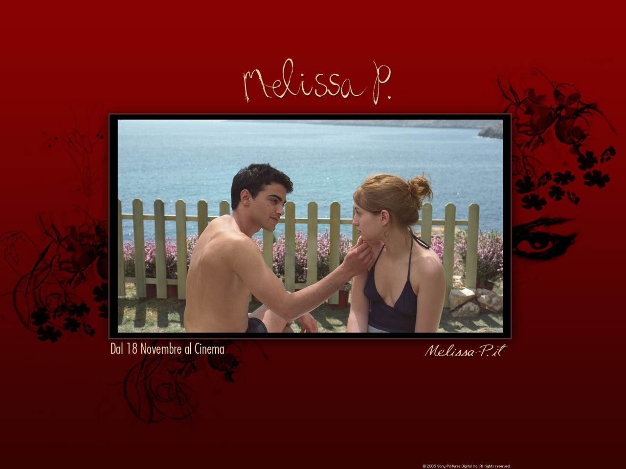 Wallpaper del film Melissa P. con Maria Valverde e Primo Reggiani