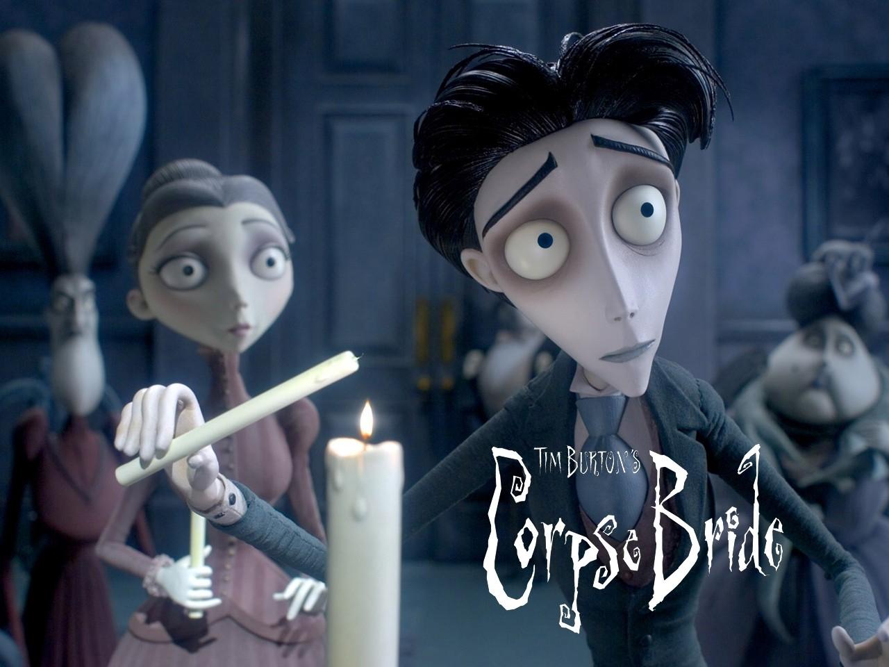 Wallpaper del film La sposa cadavere