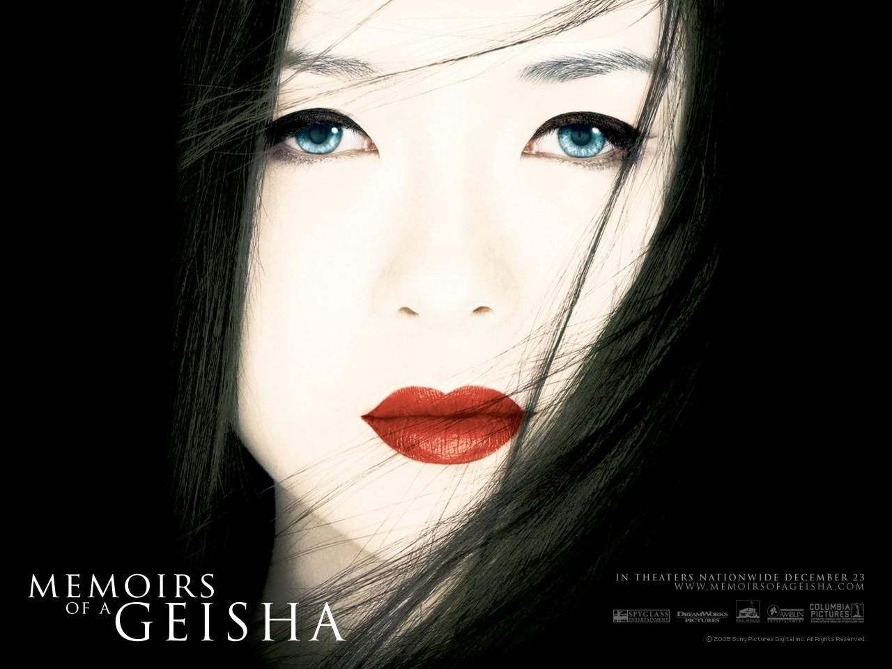 Wallpaper del film Memorie di una geisha