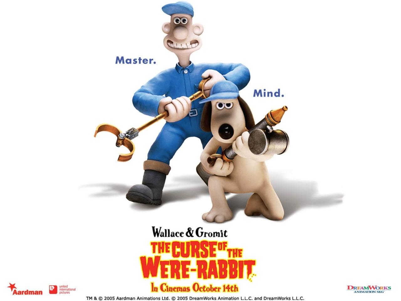 un Wallpaper del film Wallace & Gromit - La maledizione del coniglio mannaro