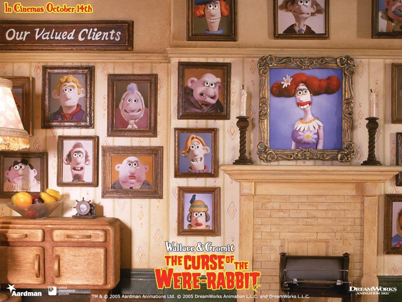 Wallpaper di Wallace & Gromit - La maledizione del coniglio mannaro