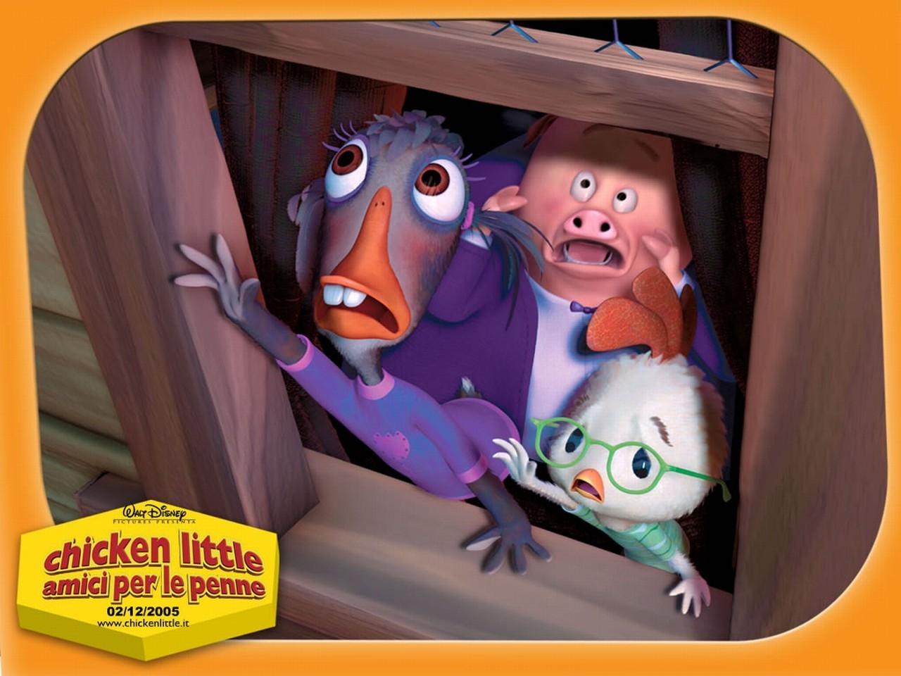 Wallpaper del film Chicken Little