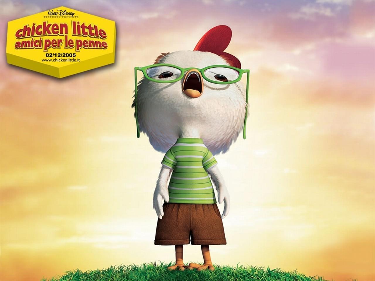 Wallpaper del film Chicken Little - Amici per le penne