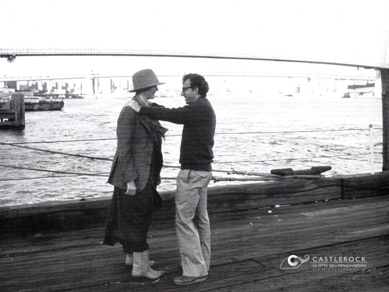 Wallpaper di Woody Allen in Io e Annie