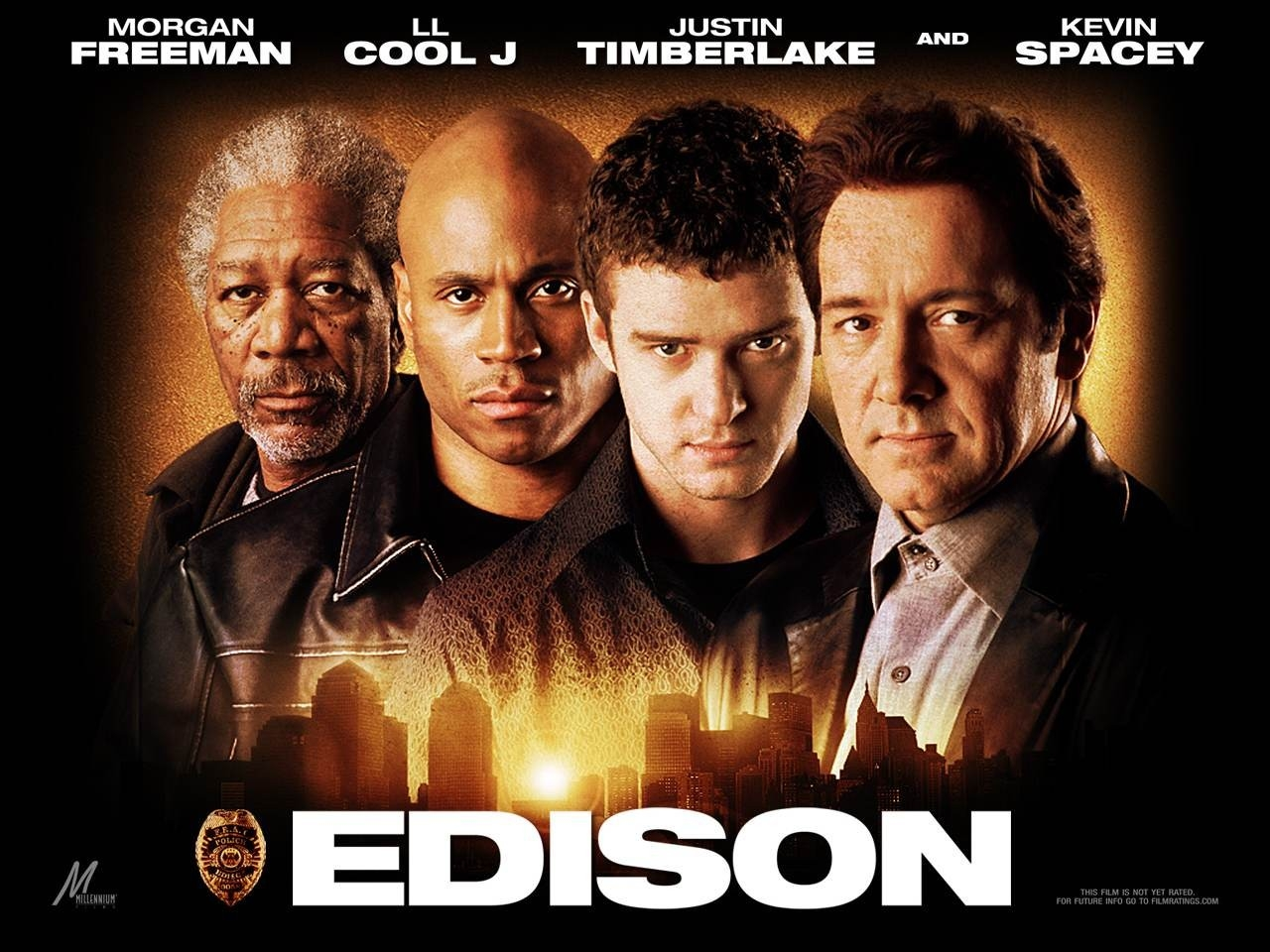 Wallpaper del film Edison City con Justin Timberlake