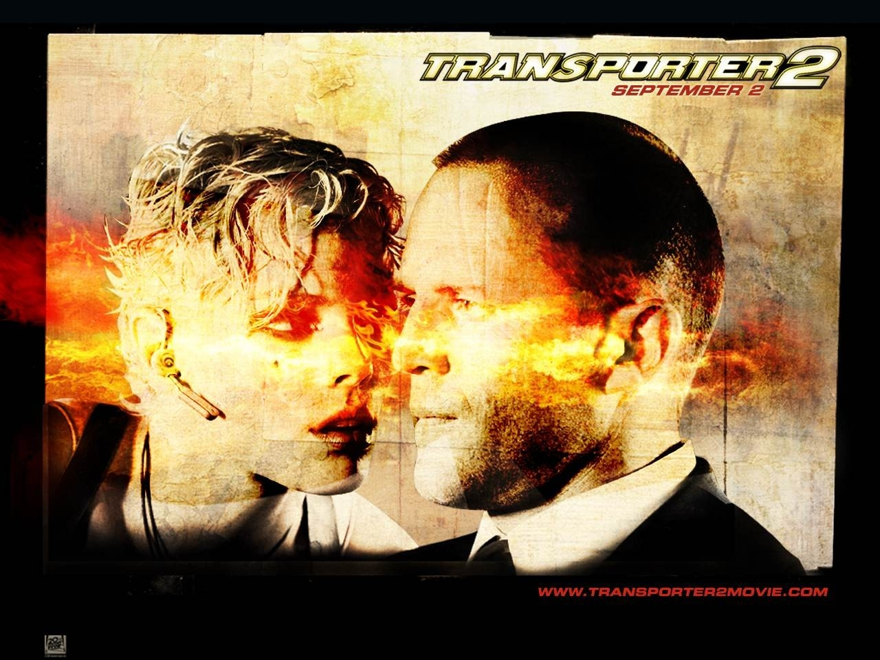 Wallpaper del film Transporter: extreme