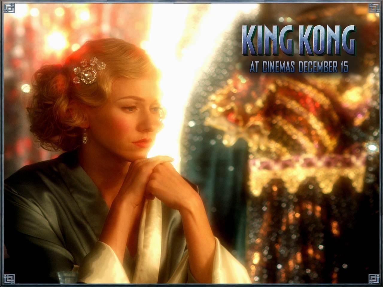 Wallpaper del film King Kong con Naomi Watts