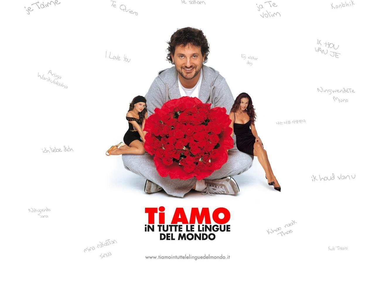 Wallpaper del film Ti amo in tutte le lingue del mondo con Pieraccioni