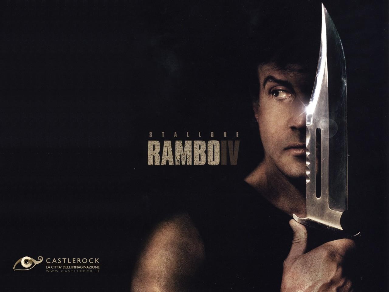 Wallpaper del film John Rambo con Stallone