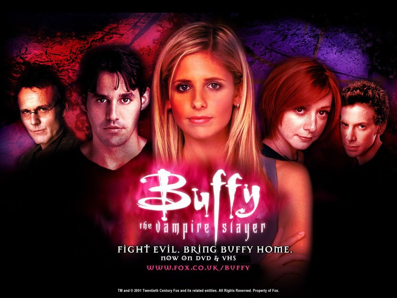 Wallpaper della serie Buffy - L'ammazzavampiri