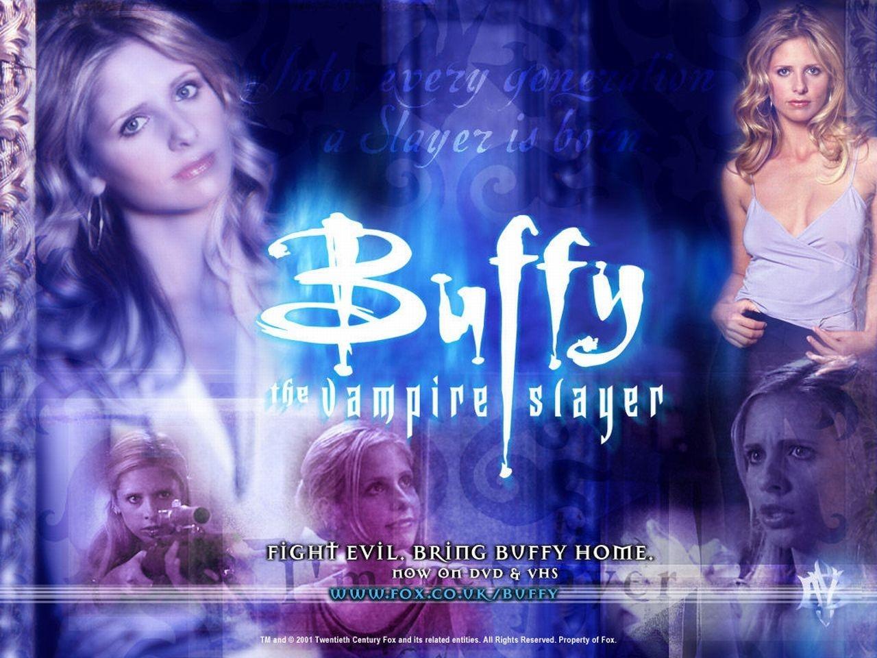 Wallpaper della serie Buffy - L'ammazzavampiri