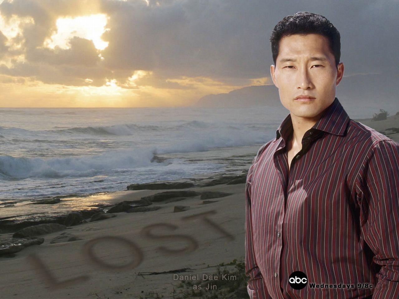 Wallpaper della serie Lost con Daniel Dae Kim