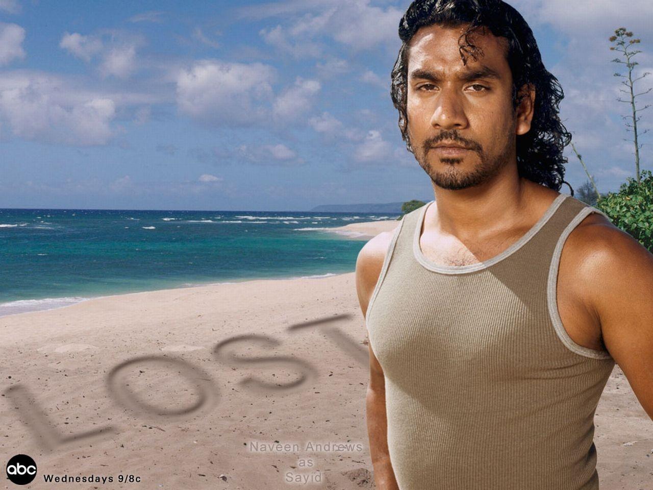 Wallpaper della serie Lost con Naveen Andrews
