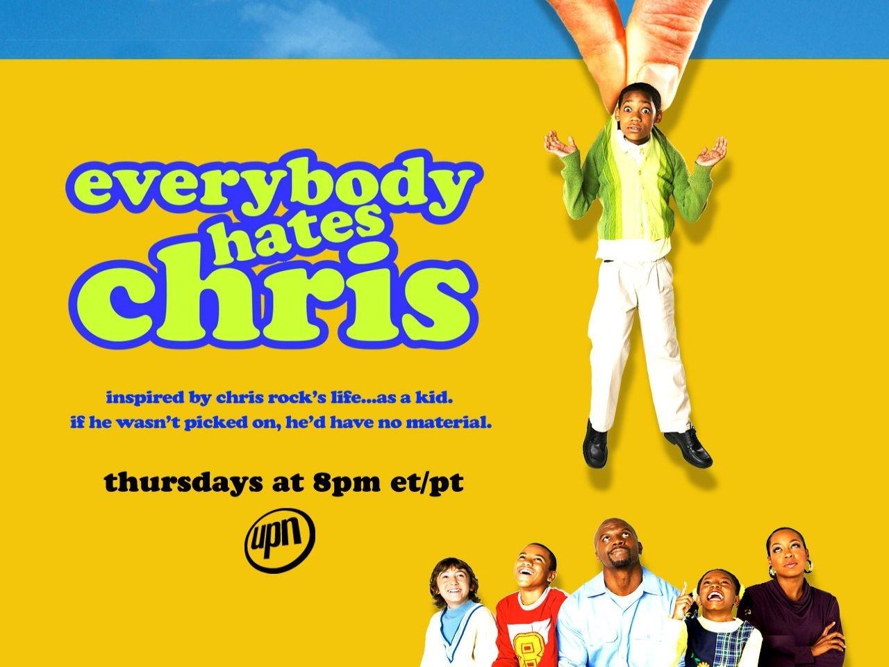 Wallpaper della serie Tutti odiano Chris