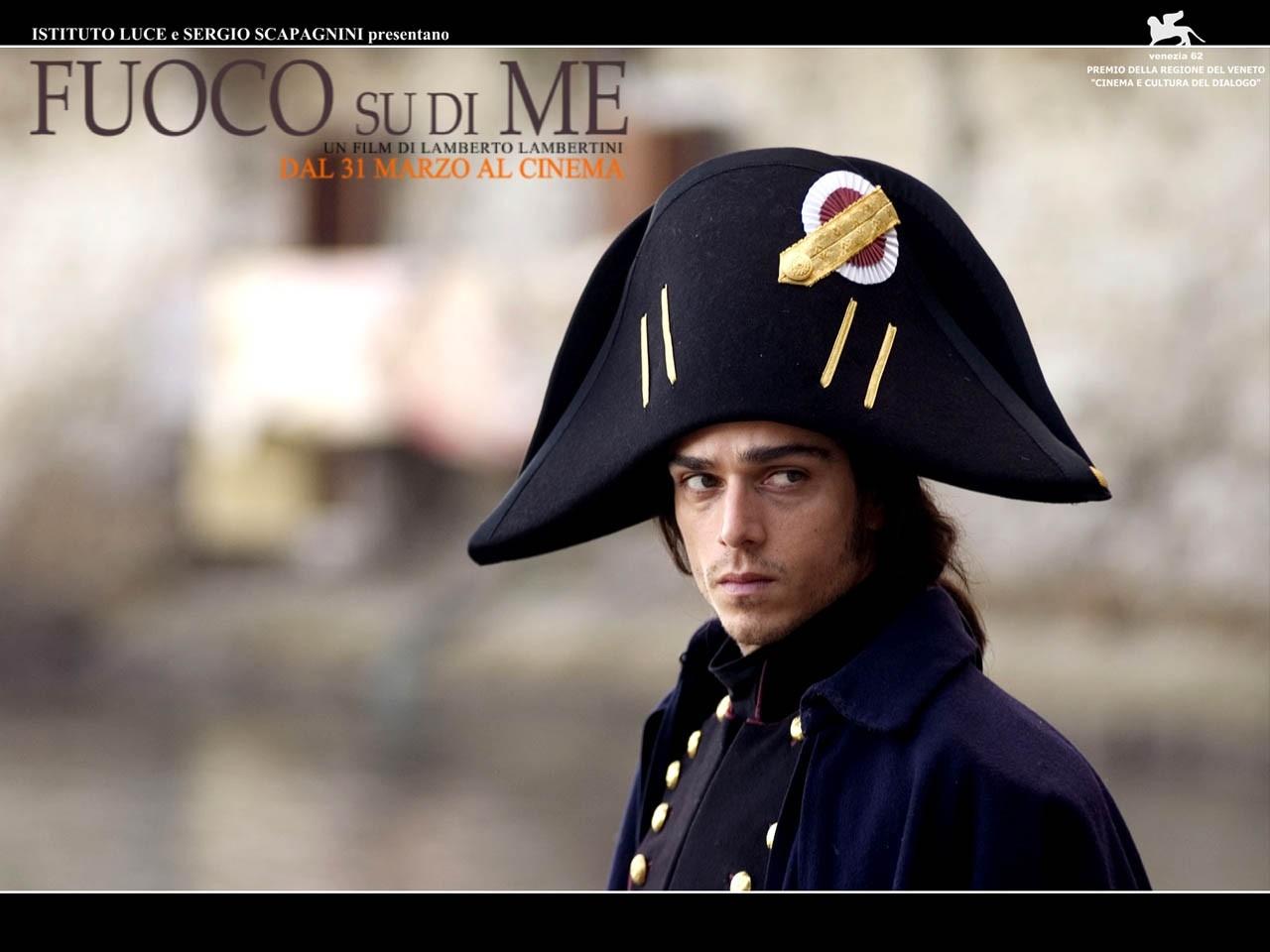 Wallpaper del film Fuoco su di me con Massimiliano Varrese
