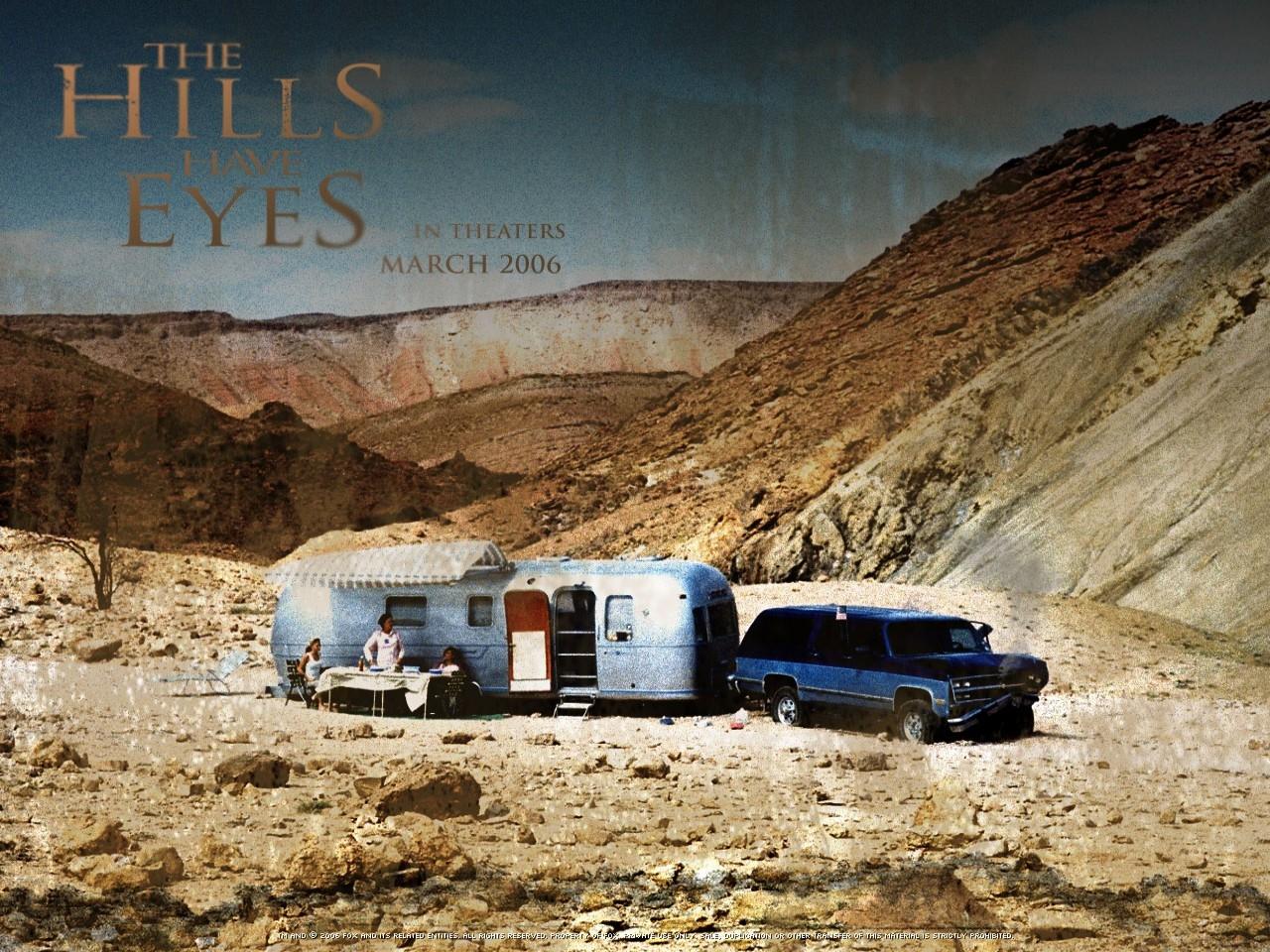 Wallpaper dell'horror Le colline hanno gli occhi