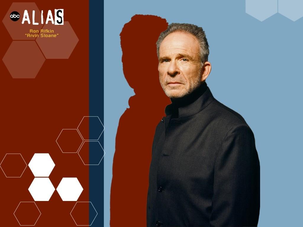 Wallpaper della serie Alias con Ron Rifkin