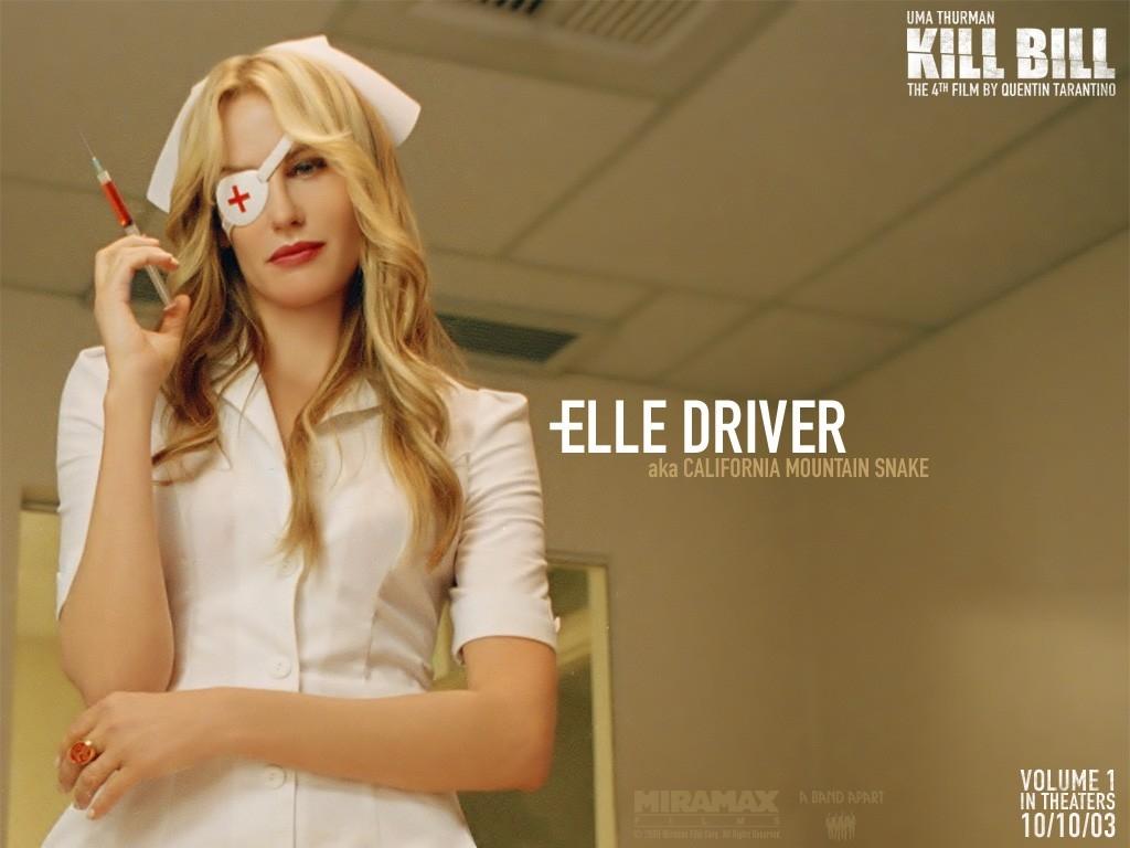 Wallpaper del film Kill Bill: Volume 1: Elle Driver